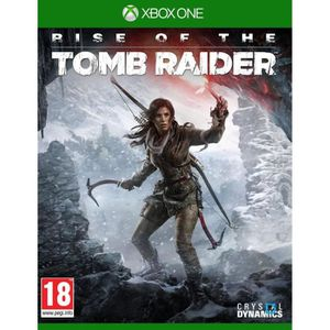 JEUX XBOX ONE Rise of The Tomb Raider Jeu Xbox One