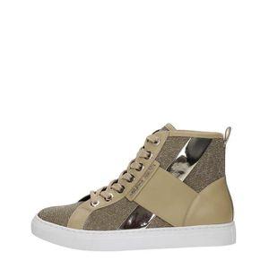 BASKET AJ Armani Jeans Sneakers Femme LT BEIGE, 39