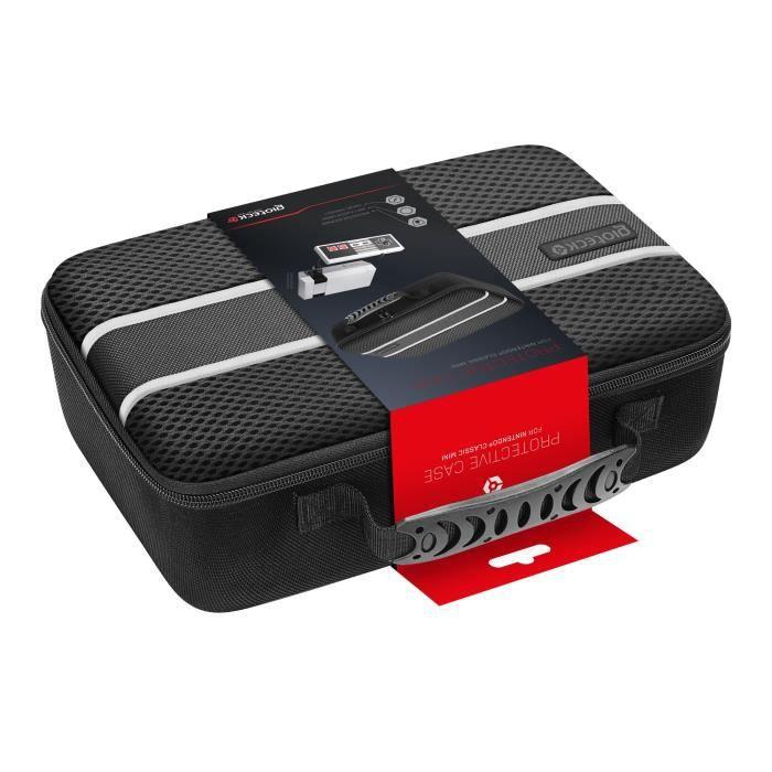 mallette de rangement pour mini nes achat vente housse de transport malette rangement mini. Black Bedroom Furniture Sets. Home Design Ideas
