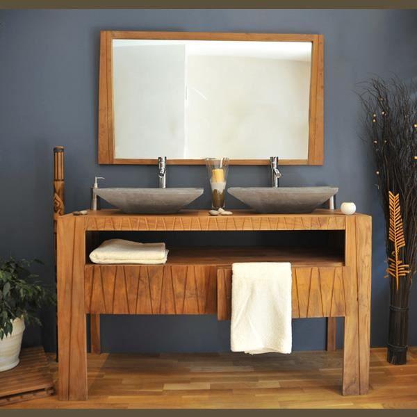 Meuble salle de bain teck leroy merlin meubles salle bain - Meuble de salle de bain en teck leroy merlin ...