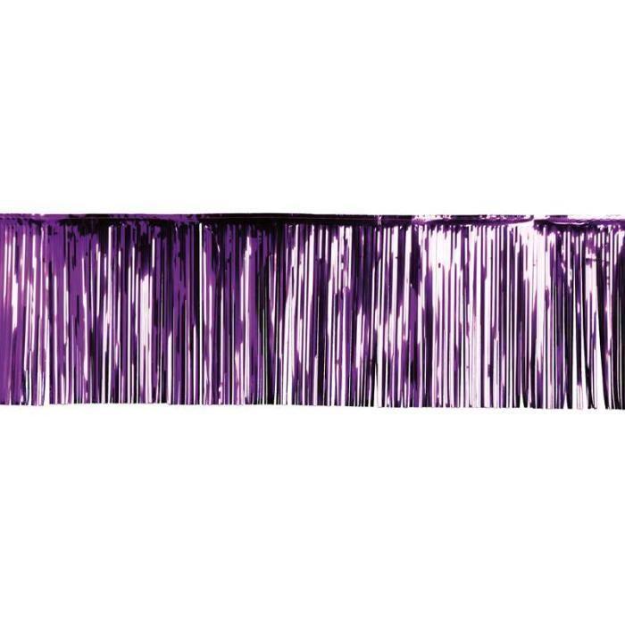 rideau lamelle 50x500 cm violet achat vente d co de f te murale cdiscount. Black Bedroom Furniture Sets. Home Design Ideas