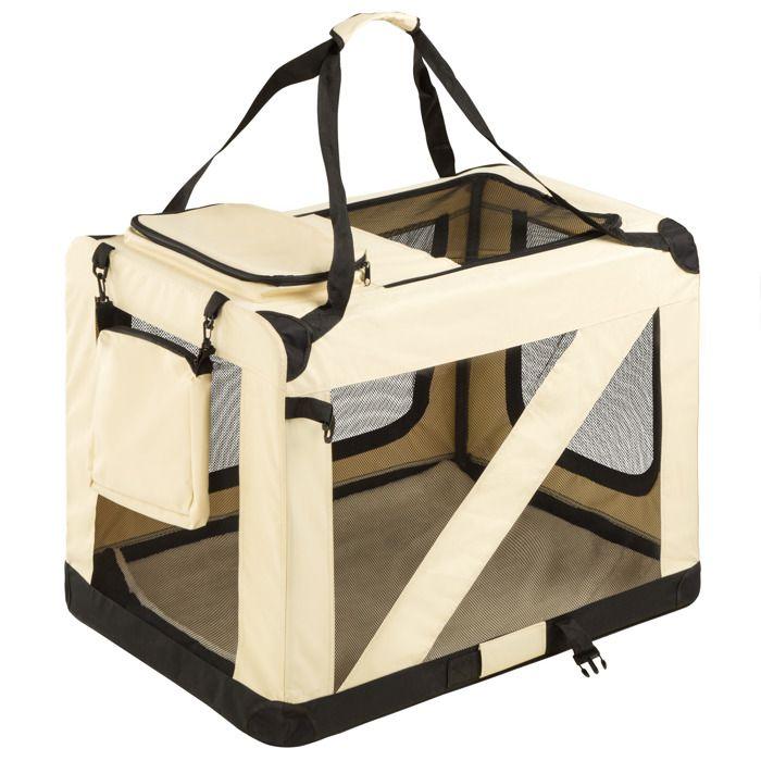 cage de transport pour chien mobile pliable et. Black Bedroom Furniture Sets. Home Design Ideas