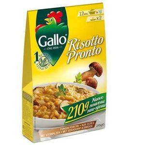 RIZ Riso Gallo Risotto Pronto 4 fromages, 6 x 210 Gr