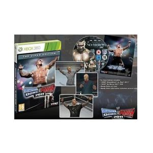 JEUX XBOX 360 WWE Smackdown VS Raw 2011 - édition collector Vipe