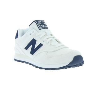 New Balance 574 Blanche Homme