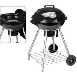 barbecue charbon et foyer dim 56 7 cm. Black Bedroom Furniture Sets. Home Design Ideas