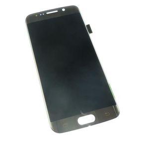 PIÈCE TÉLÉPHONE Ecran vitre tactile et LCD assemblés or pour Samsu