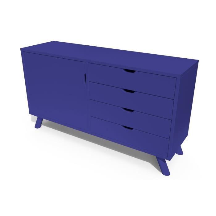 abc meubles buffet scandinave viking bois bleu fonc achat vente buffet bahut buffet. Black Bedroom Furniture Sets. Home Design Ideas