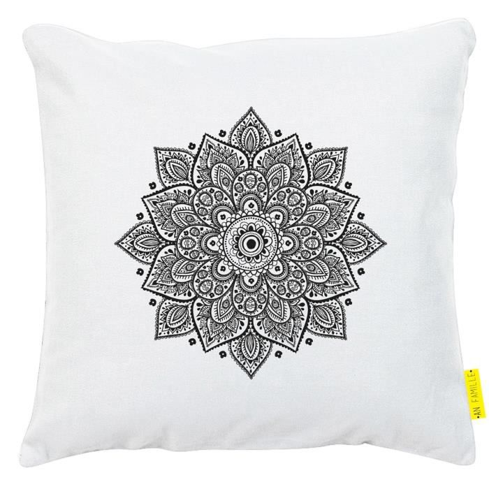 Coussin mandala achat vente coussin cdiscount - Coussin anti transpirant ...