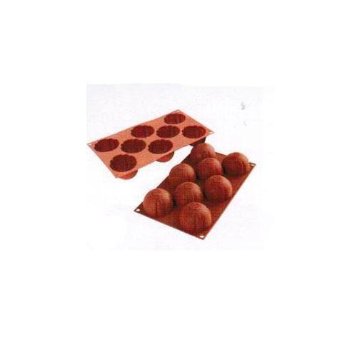 moules flexibles silicon flex 8 domes stries dome strie cuisine autour de la patisserie. Black Bedroom Furniture Sets. Home Design Ideas
