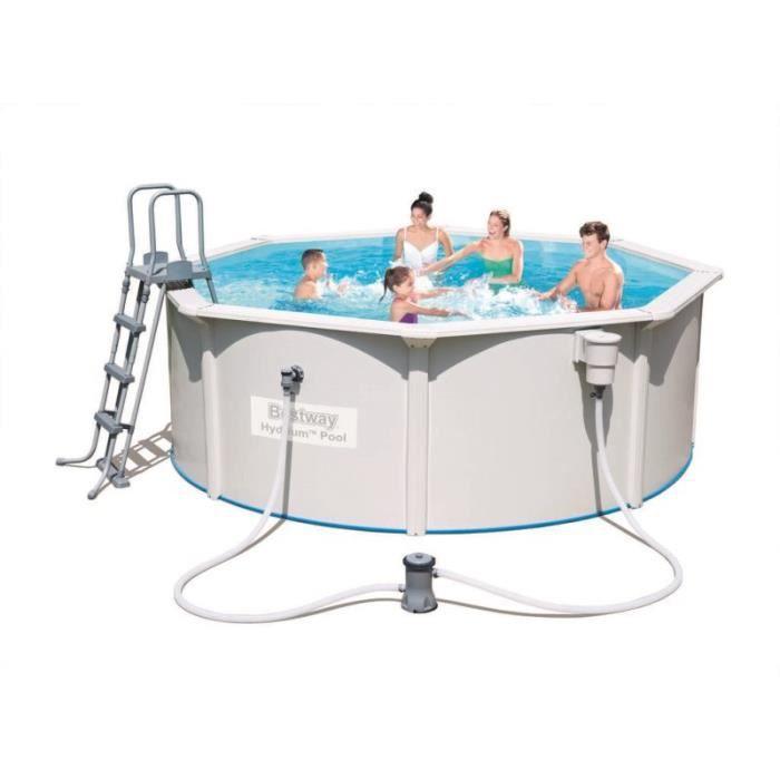 piscine hors sol hydrium neptune dia hauteur. Black Bedroom Furniture Sets. Home Design Ideas