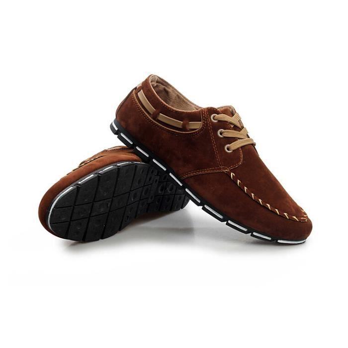 Chaussures homme respirante espadrilles en daim hommes - Laver chaussure en daim ...
