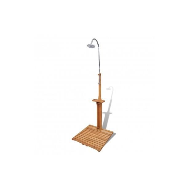 Superbe douche de jardin en bois neuf achat vente Douche de jardin en bois