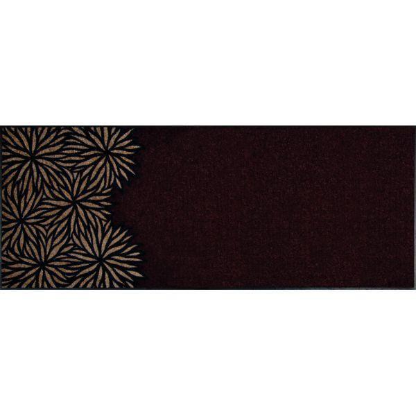 Tapis Design Dahlia Braun 75 X 190 Achat Vente Paillasson Cadeaux De No L Cdiscount