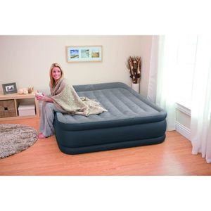 Lit gonflable 2 places DELUXE REST BED + gonfleur