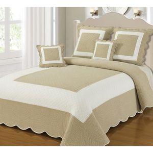 boutis 250x250 achat vente boutis 250x250 pas cher cdiscount. Black Bedroom Furniture Sets. Home Design Ideas
