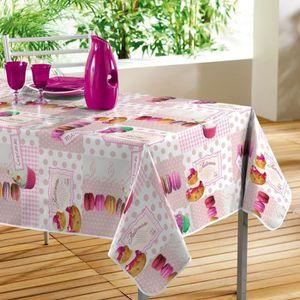 nappe cir e rectangulaire table de cuisine. Black Bedroom Furniture Sets. Home Design Ideas