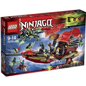 ASSEMBLAGE CONSTRUCTION LEGO® Ninjago 70738 L'Ultime QG des Ninjas