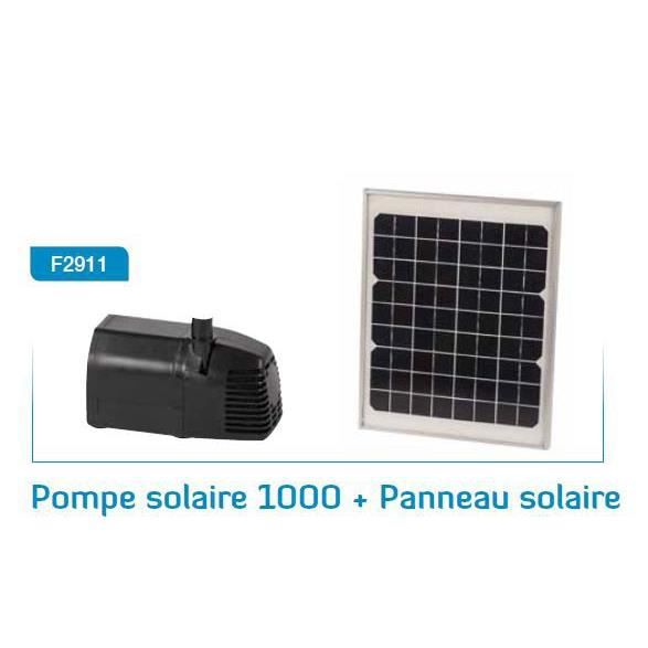 Pompe solaire agriline 1 000 achat vente chauffage for Pompe a chaleur solaire piscine