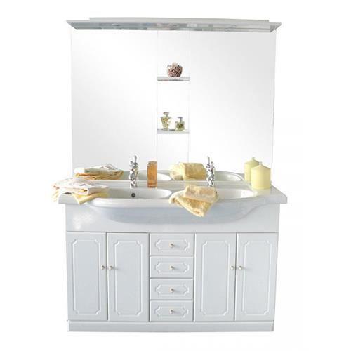 Meuble majorca 130 cm achat vente salle de bain for Achat salle de bain complete