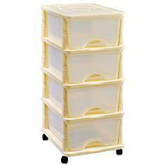 tour de rangement 4 tiroirs achat vente tour de rangement cdiscount. Black Bedroom Furniture Sets. Home Design Ideas