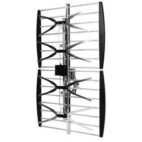 Antenne d 39 ext rieur pour cran plat dvb t et uhf 14db for Antenne exterieur