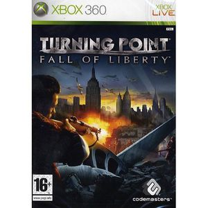 JEUX XBOX 360 TURNING POINT FALL OF LIBERTY / Jeu console XBOX36
