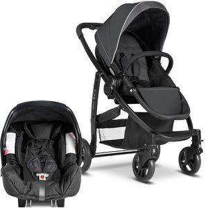 POUSSETTE  Pack Duo EVO TS - Charcoal