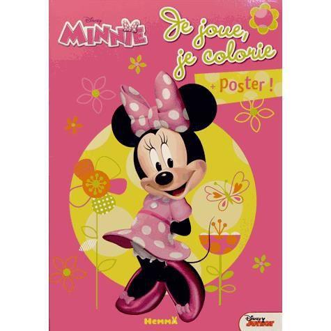 Je joue je colorie minnie achat vente livre disney hemma parution 31 01 2013 pas cher - Coloriage minnie joue ...