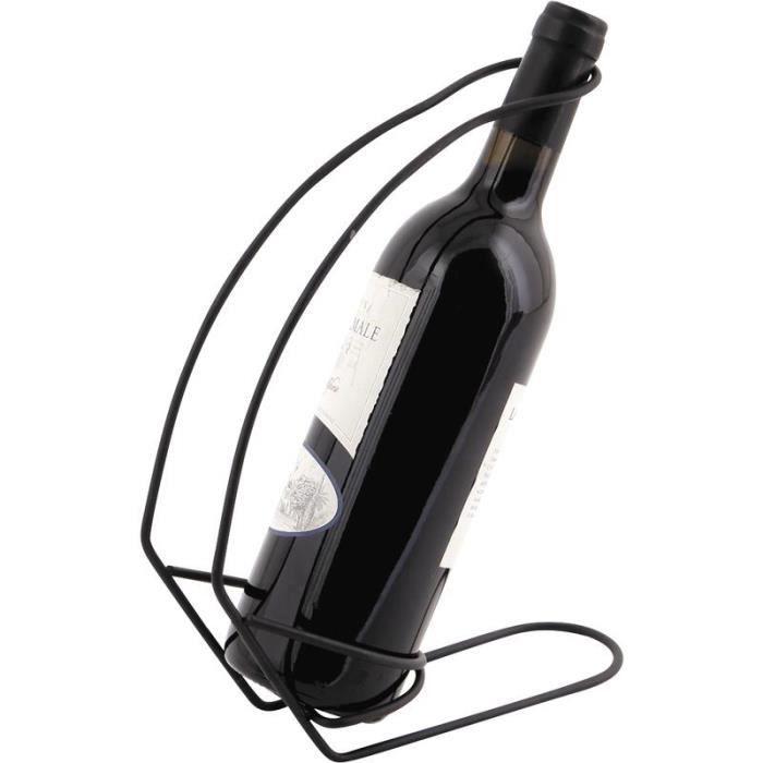 panier verseur de vin en m tal noir achat vente porte bouteille panier verseur de vin en m. Black Bedroom Furniture Sets. Home Design Ideas