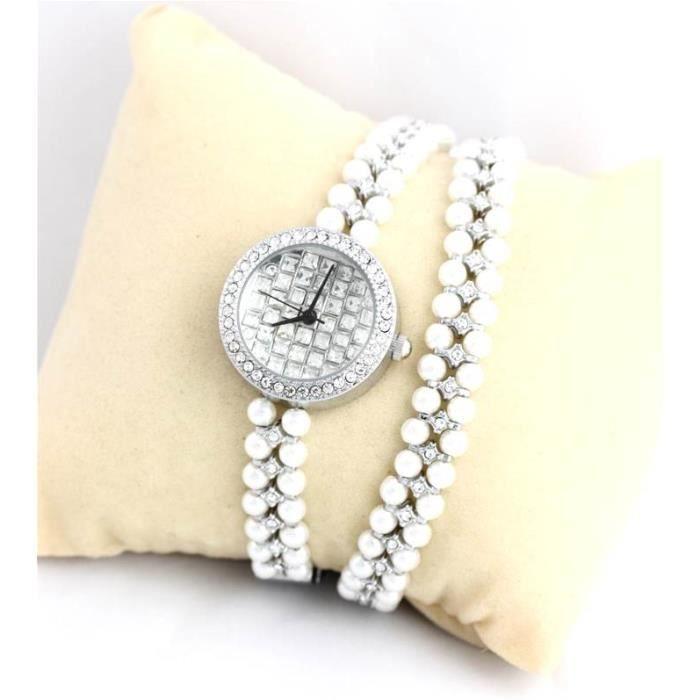 montre swatch femme bracelet perle. Black Bedroom Furniture Sets. Home Design Ideas