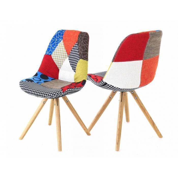 chaises retro - achat / vente chaises retro pas cher - cdiscount - Chaise Retro Pas Cher