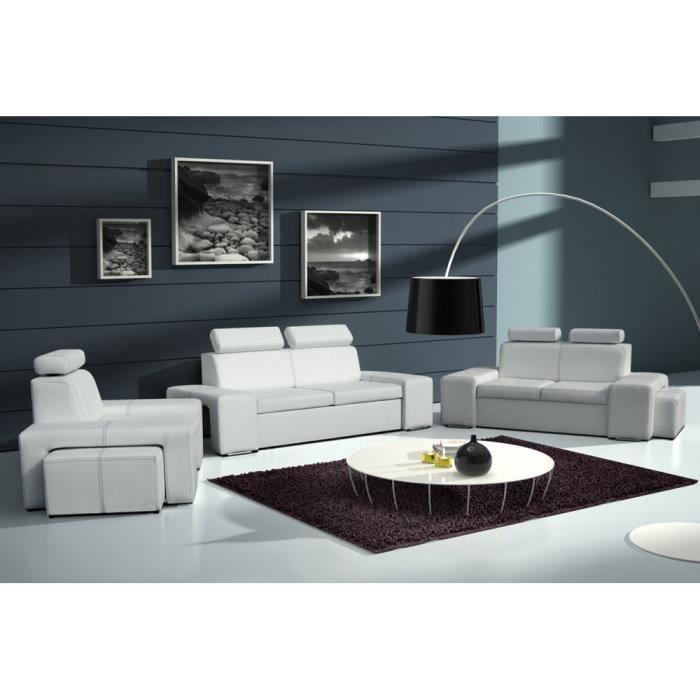 Justhome lorenzo ensemble de meubles de salon 3r 2 1 for Ensemble de salon complet