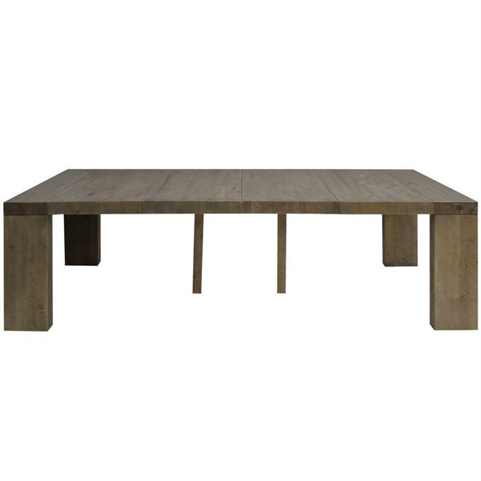 Table console woodini xl extensible 4 rallonges achat for Table extensible jusqu a 12 personnes