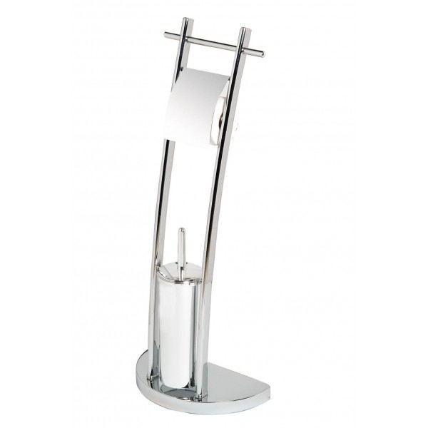 105203 combine wc porte papier et pot balai achat for Accessoires salle de bain et wc