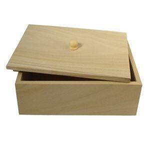 boite sucre en bois avec couvercle 18x13 5x9c achat vente support d corer boite sucre. Black Bedroom Furniture Sets. Home Design Ideas