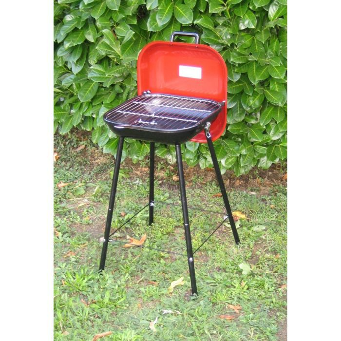 Barbecue picnic grill rouge barbecue charbon de b achat - Barbecue charbon soldes ...