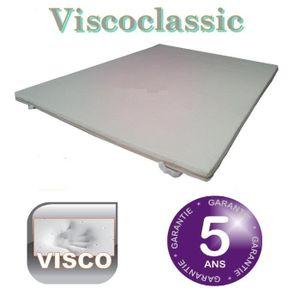 SUR-MATELAS Surmatelas mémoire de forme 90x190 Viscoclassi