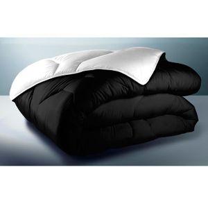couette couleur 220x240 achat vente couette couleur 220x240 pas cher cdiscount. Black Bedroom Furniture Sets. Home Design Ideas