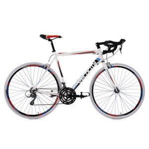"""VÉLO DE COURSE - ROUTE Vélo de course 28"""" Velocity blanc TC 59 cm KS Cycl"""