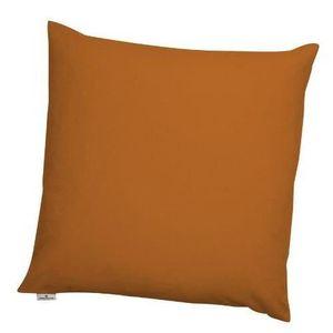 Housse de coussin 60 x 60 cm orange achat vente housse for Housse de coussin 30x60