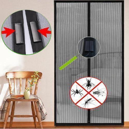 insect cran de protection porte moustiquaire porte rideau moustiquaire magn tique net achat. Black Bedroom Furniture Sets. Home Design Ideas