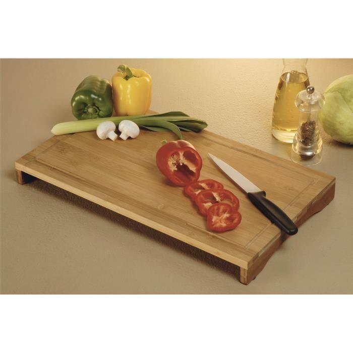 Grande planche couper cuisine bambou planche hacher en for Planche cuisine bois