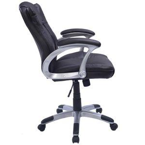 Fauteuil de bureau marron achat vente fauteuil de for Chaise d ordinateur
