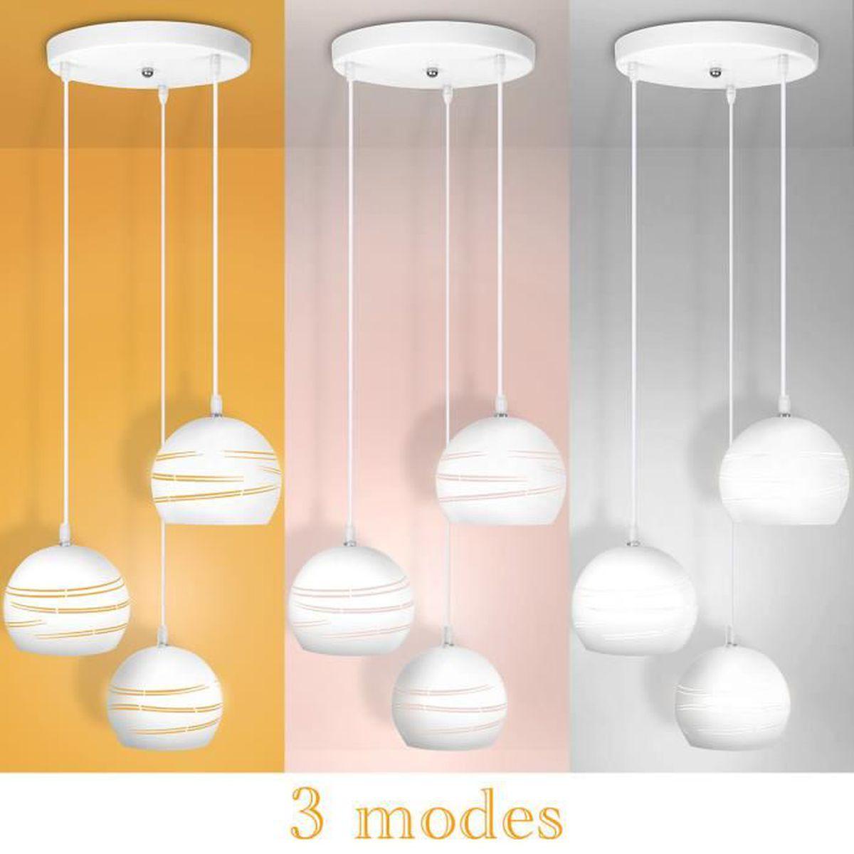 #B87913 21W Lampe Suspendue Moderne Applique Lustres Réglables à 3  4733 lustre pour salle a manger moderne 1200x1200 px @ aertt.com