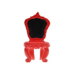 chaise de cuisine couleur rouge achat vente chaise de. Black Bedroom Furniture Sets. Home Design Ideas