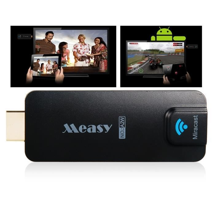 measy a2w sans fil miracast escast tv dongle streaming dongle avec hdmi wi fi dlna airplay. Black Bedroom Furniture Sets. Home Design Ideas