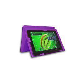 housse pour tablette clnwcas07pu violet pour tablettes 7 pouces prix pas cher cdiscount