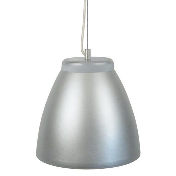 trofa suspension c ramique diam tre 25 cm ronde argent. Black Bedroom Furniture Sets. Home Design Ideas