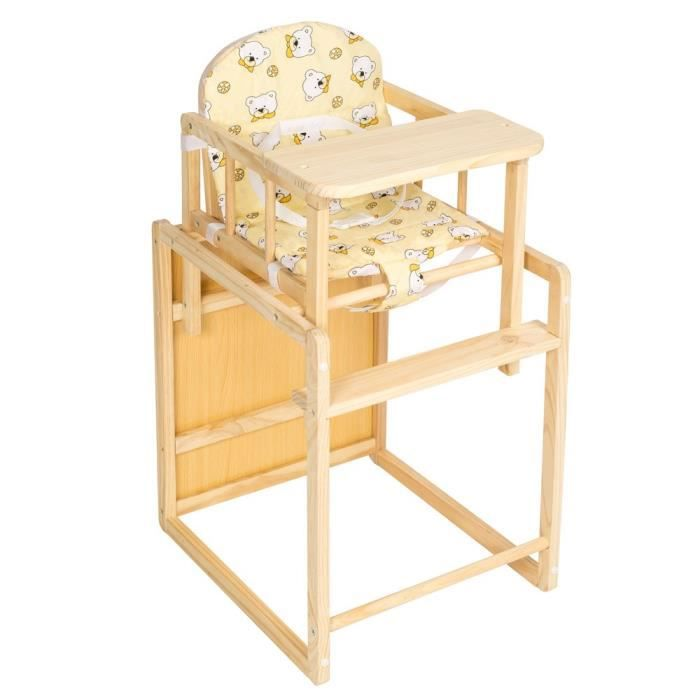 Table rabattable cuisine paris table et chaise bebe en bois - Chaise bebe accroche table ...